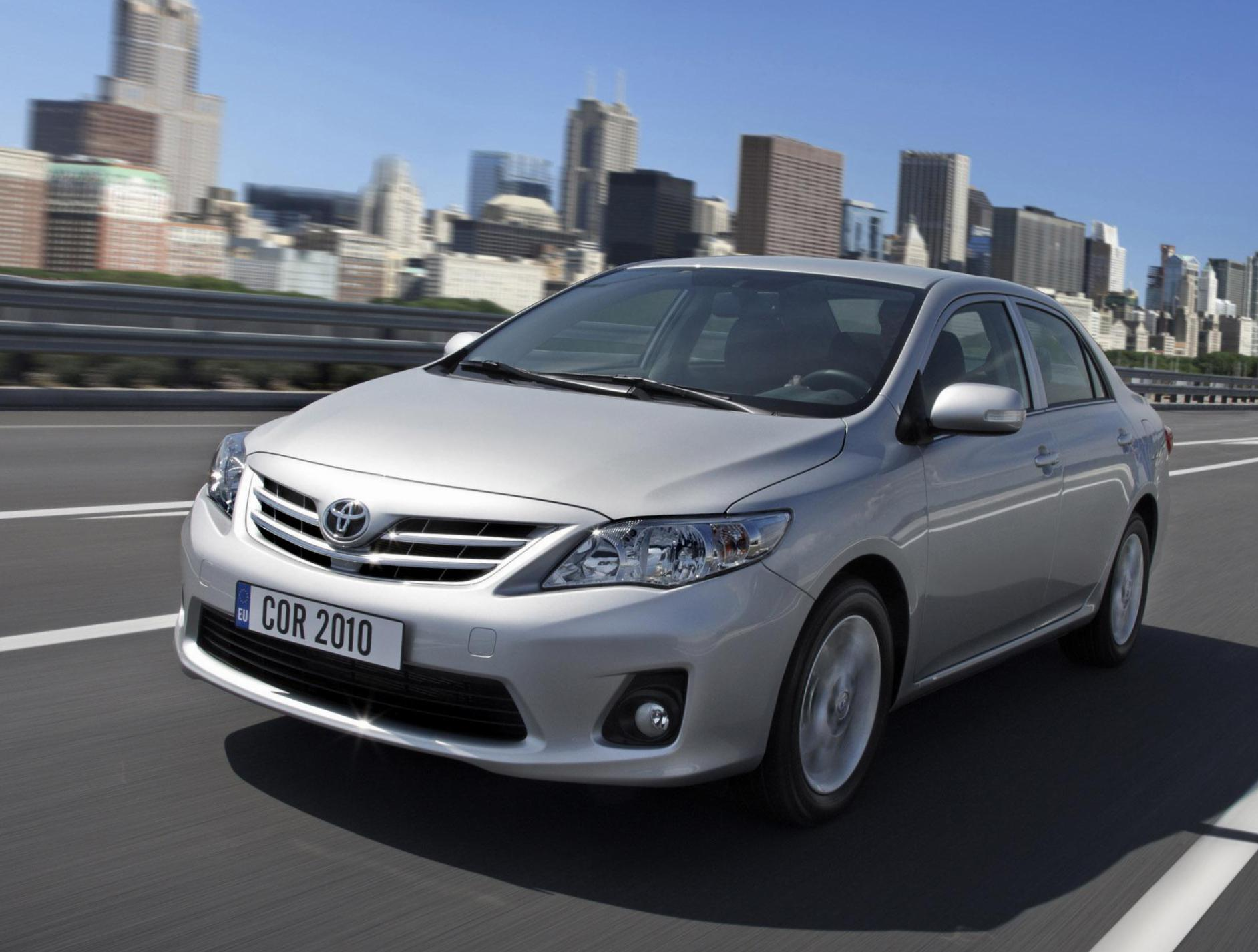 Corolla Toyota Specification 2009