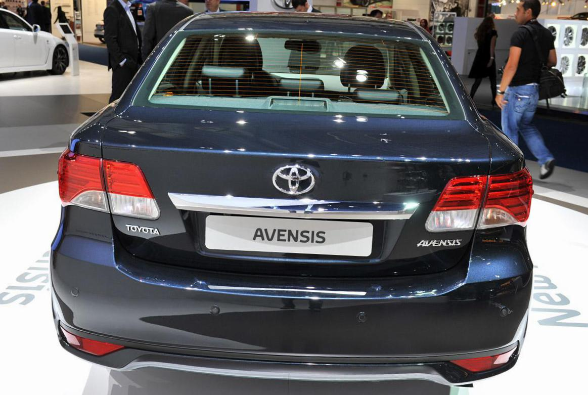 Avensis Toyota configuration 2012