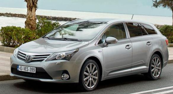 Toyota Avensis Wagon review sedan