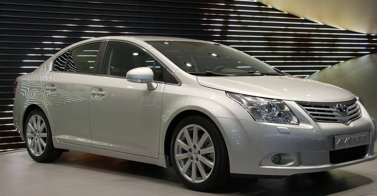 Avensis Toyota cost 2013