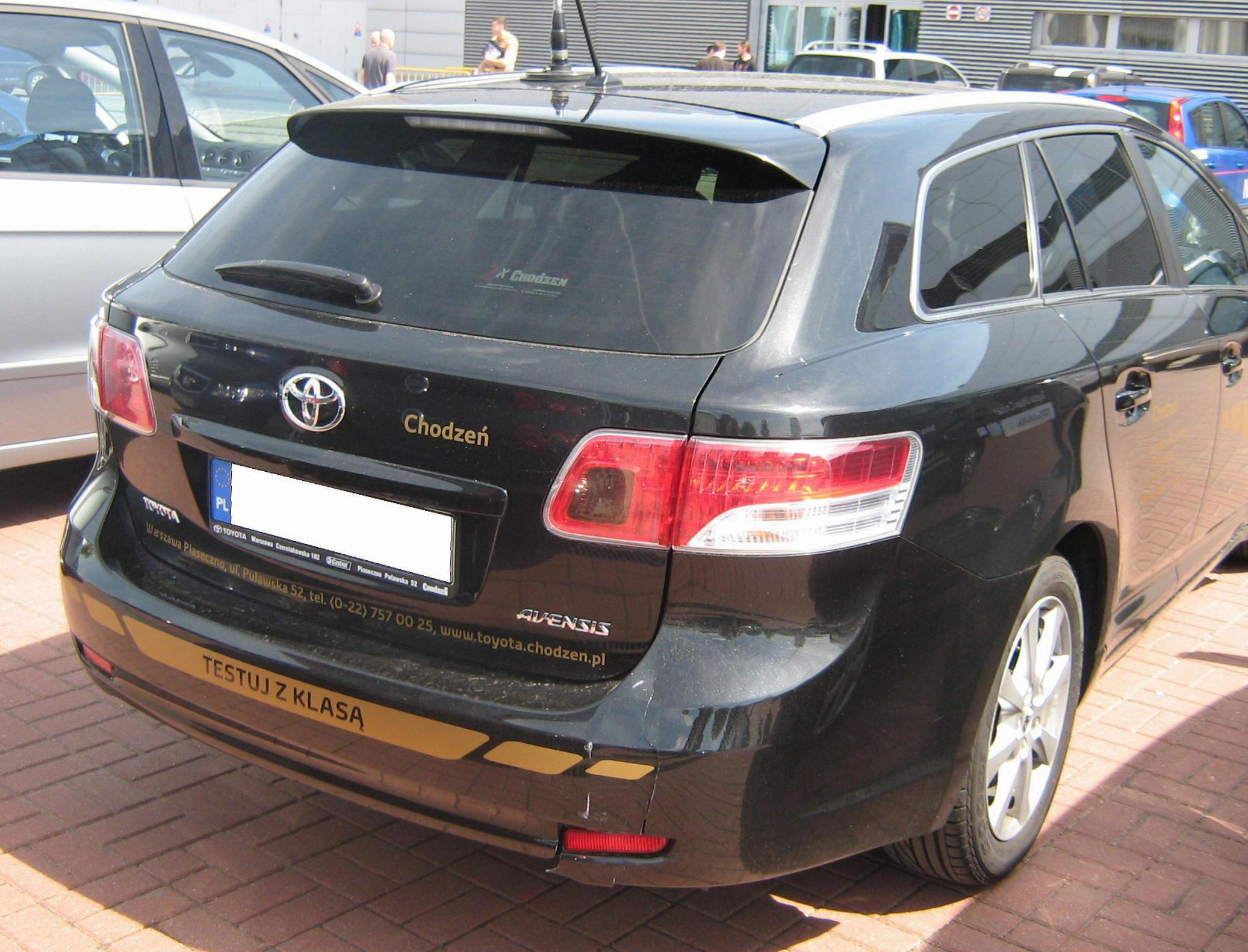 Toyota Avensis Wagon reviews 2012