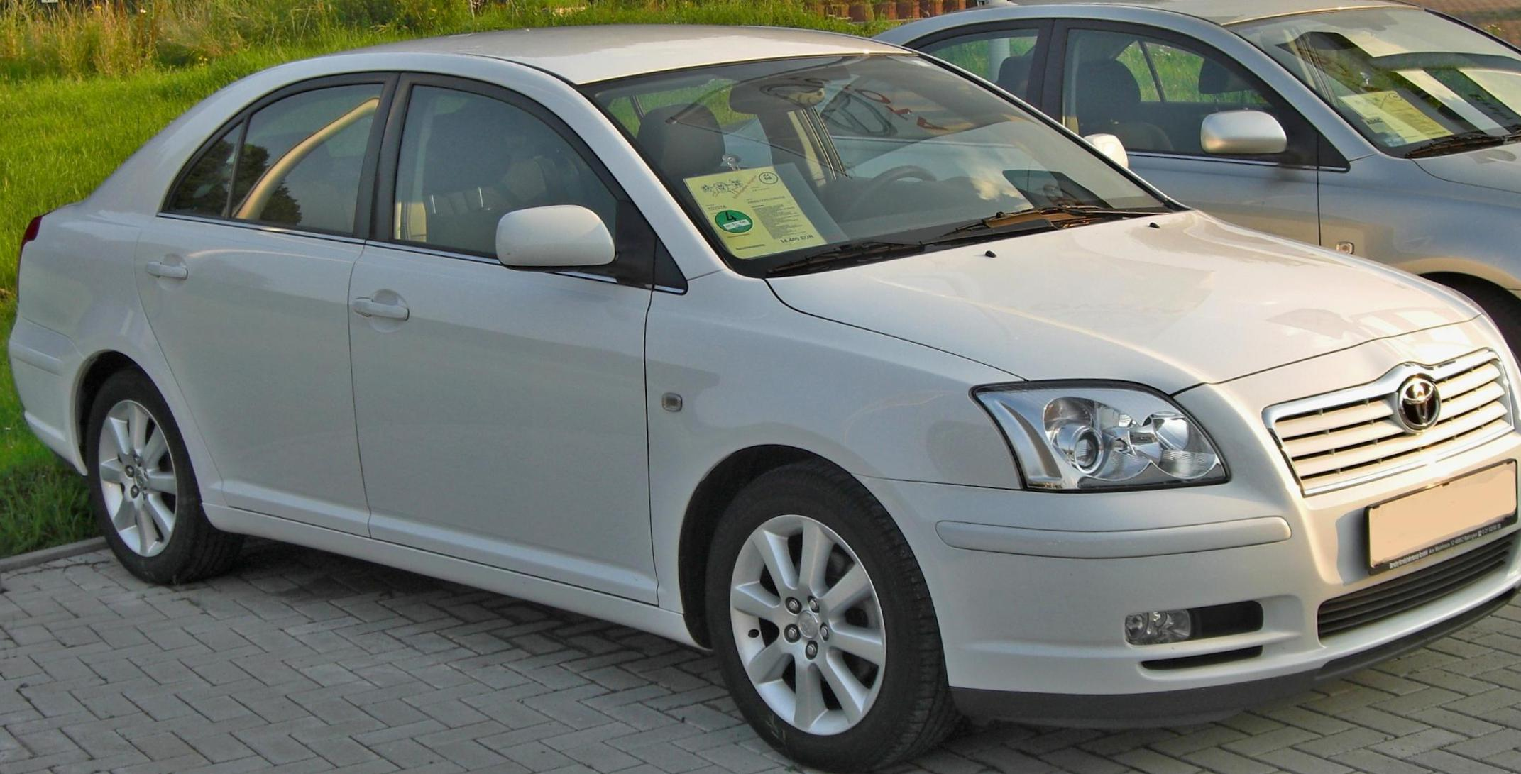 Toyota Avensis approved 2005