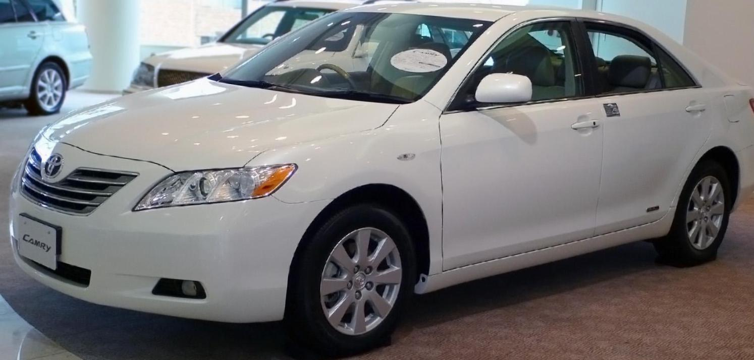 Toyota Camry models 2009