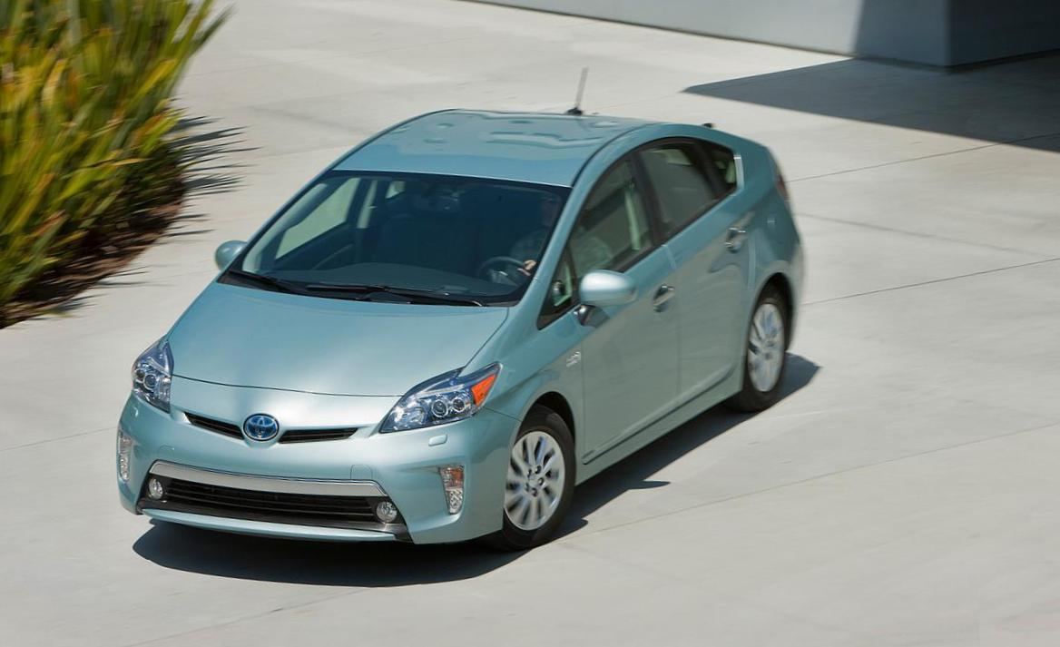 Toyota Prius Plug-in Hybrid lease coupe