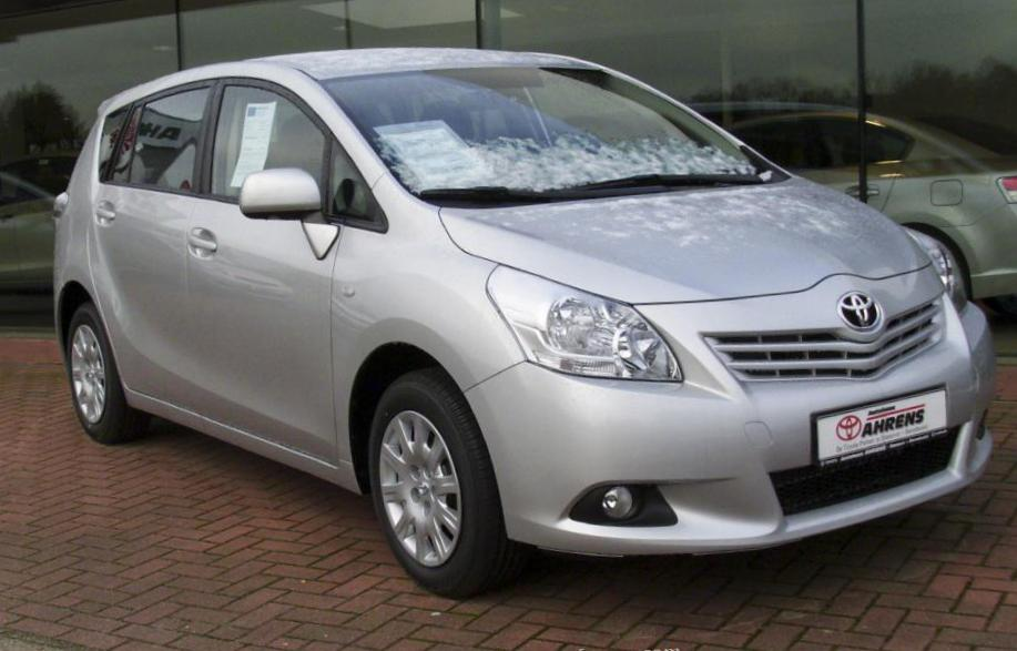 Verso Toyota approved 2012