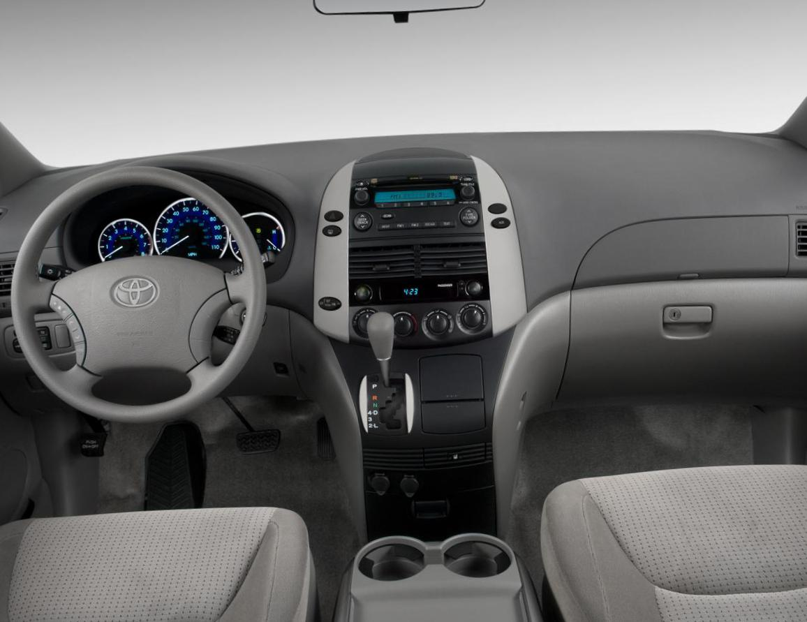 Toyota Sienna reviews 2008