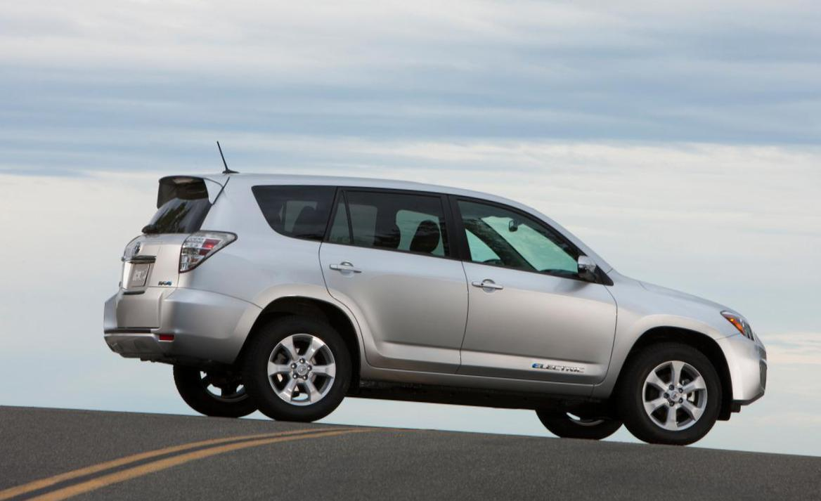 RAV4 EV Toyota parts wagon