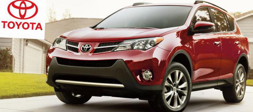 RAV4 Toyota model 2012