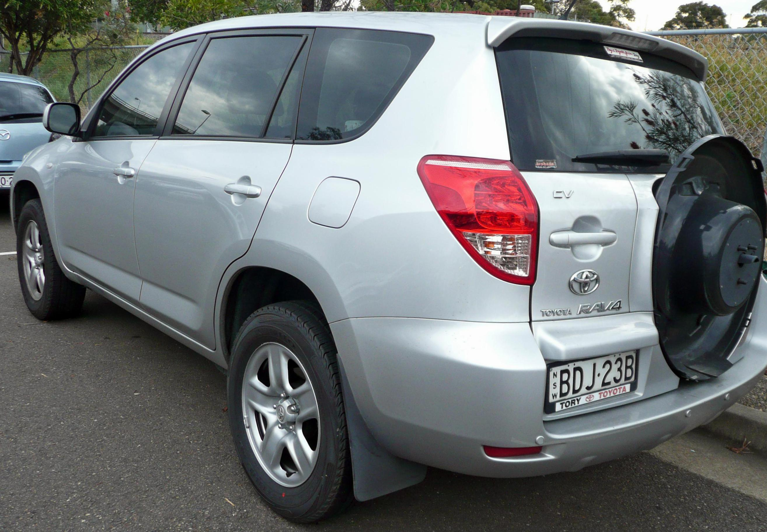Toyota RAV4 Specification 2009
