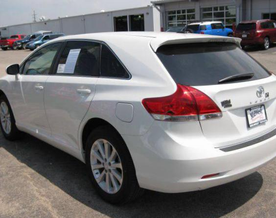 Toyota Venza Specification 2008