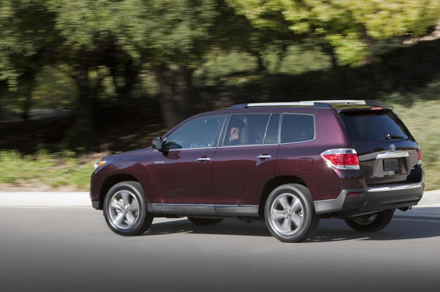 Toyota Highlander reviews 2012