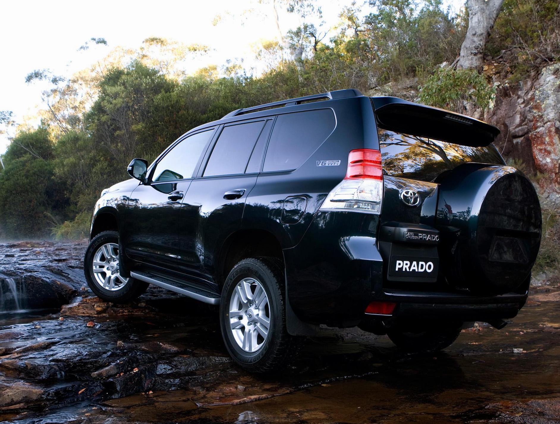 Toyota Land Cruiser Prado 150 Specification 2012