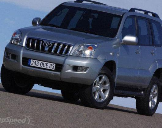 Toyota Land Cruiser Prado 120 specs coupe