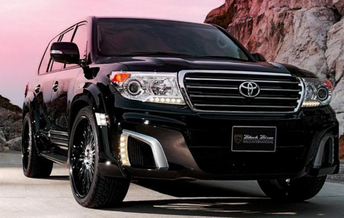 Toyota Land Cruiser 200 Specifications suv