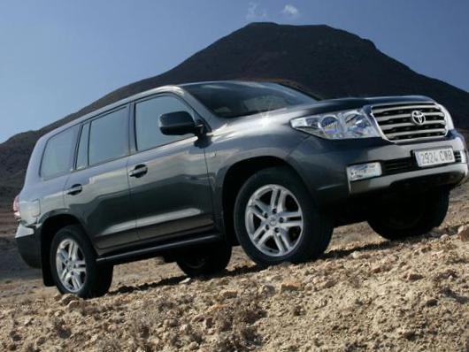 Toyota Land Cruiser 200 tuning suv