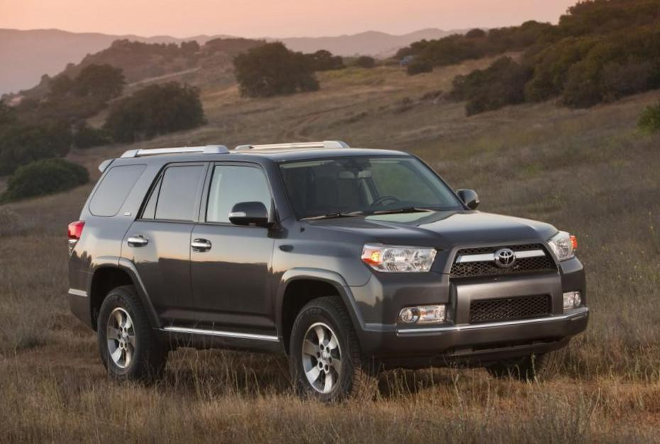 Toyota 4Runner approved 2013