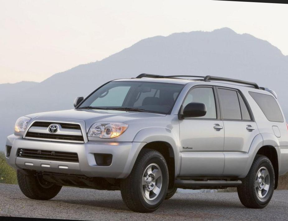 4Runner Toyota approved suv
