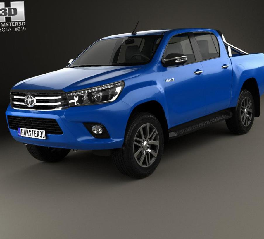 Hilux Double Cab Toyota lease 2014