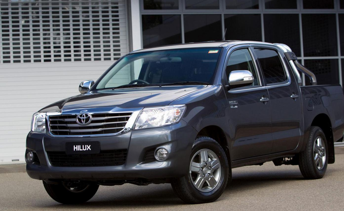 Hilux Double Cab Toyota price 2011