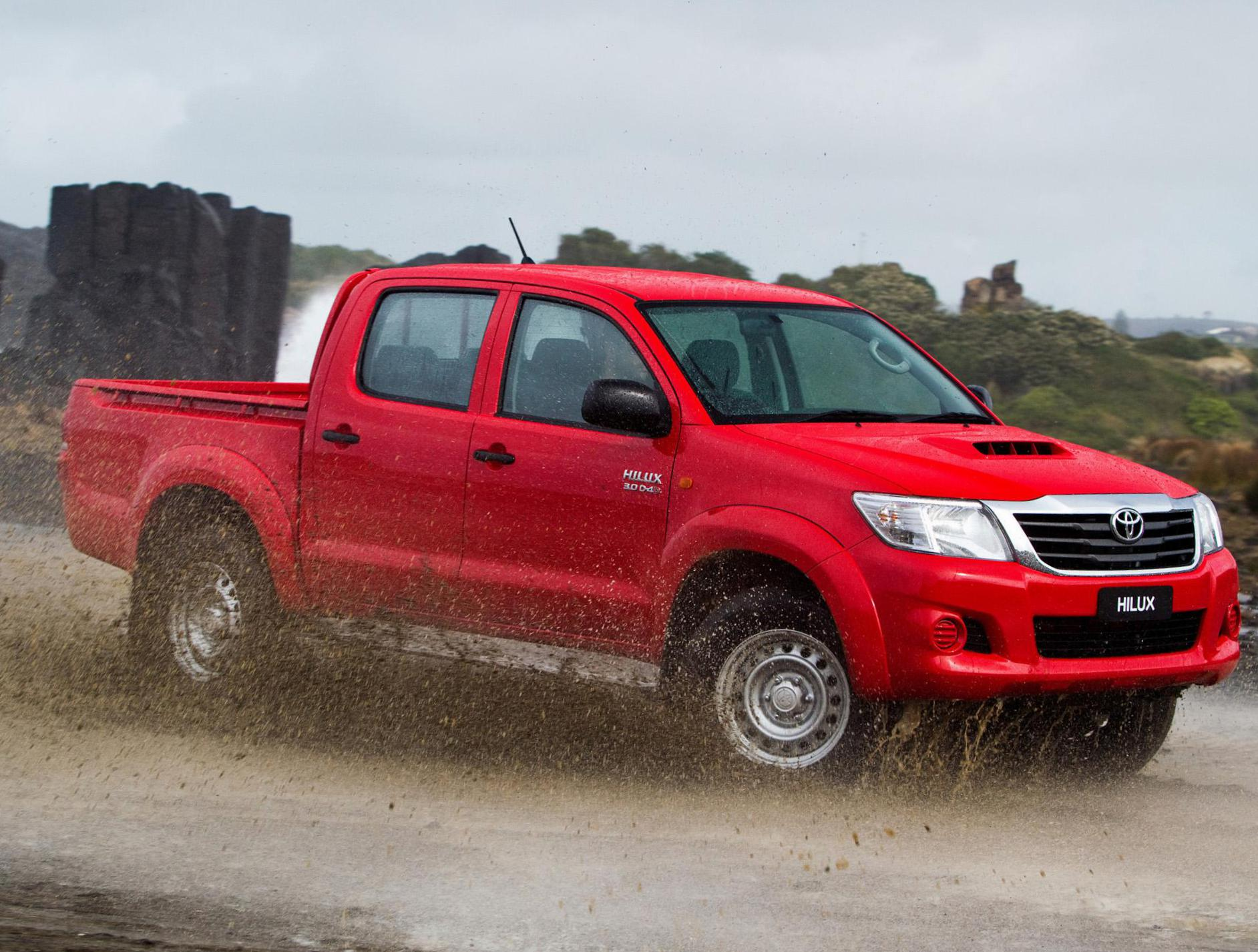 Toyota Hilux Double Cab Specifications 2013