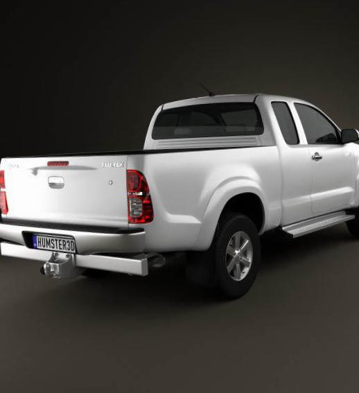 Hilux Extra Cab Toyota approved suv