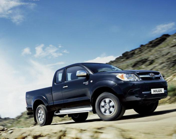 Hilux Extra Cab Toyota Specification 2011