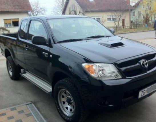 Toyota Hilux Extra Cab tuning 2015