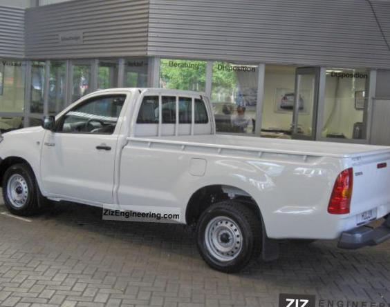 Toyota Hilux Single Cab review 2008
