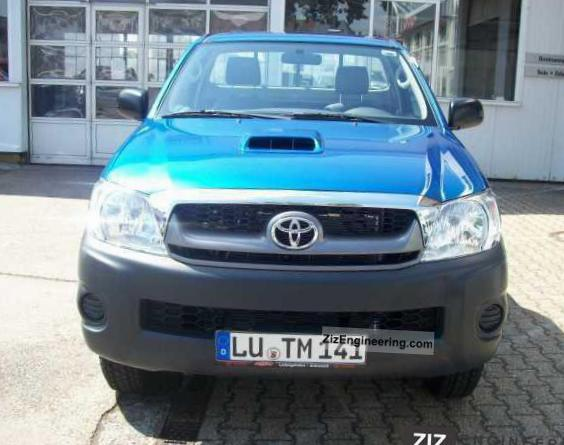 Toyota Hilux Single Cab Specification 2010