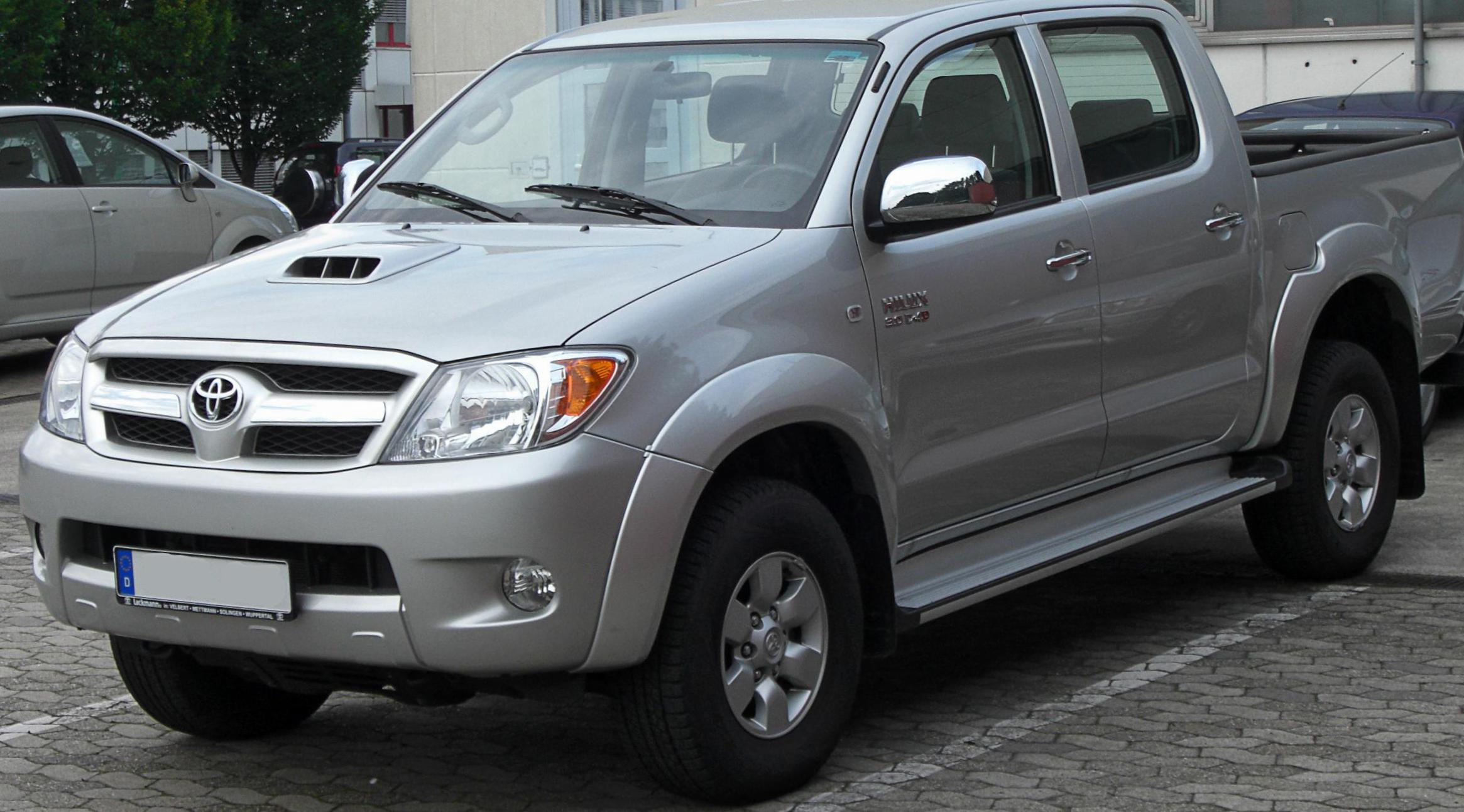 Toyota Hilux Double Cab Specification suv