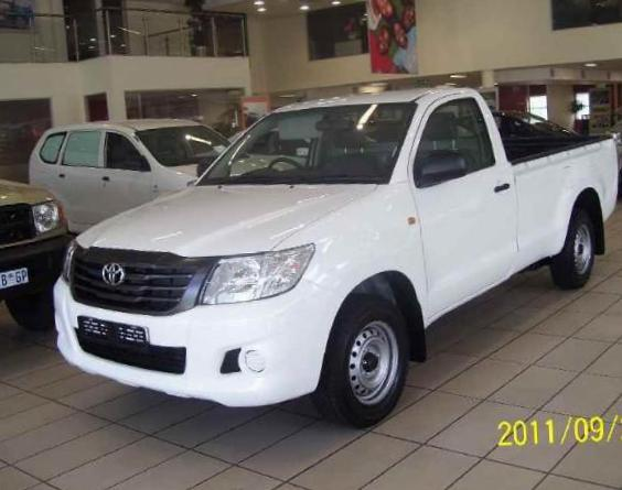 Hilux Extra Cab Toyota lease 2009
