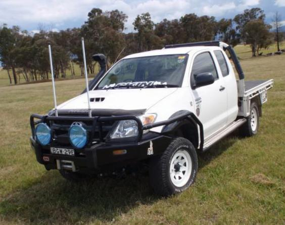 Hilux Extra Cab Toyota parts suv