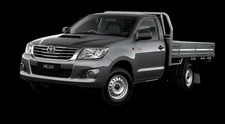 Hilux Single Cab Toyota configuration 2011