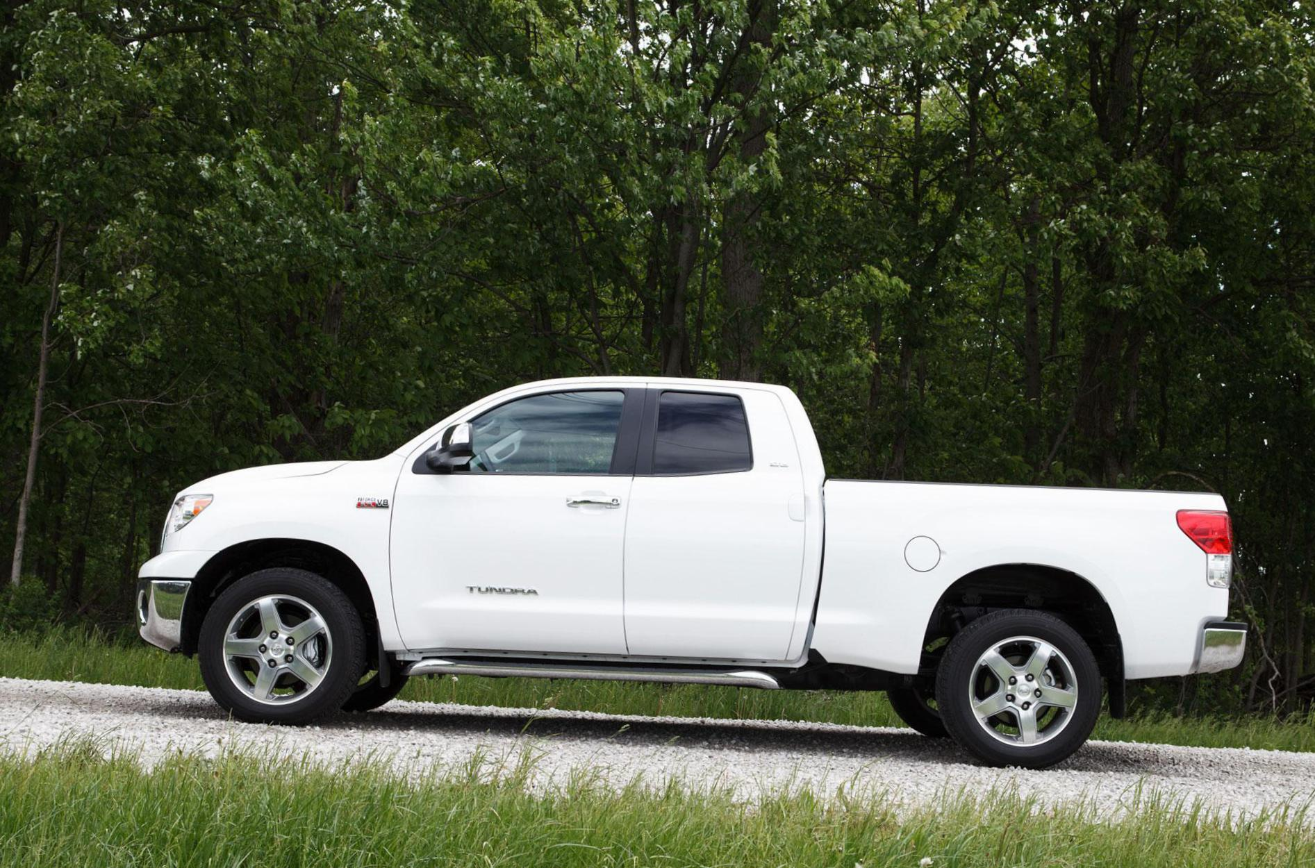 Toyota Tundra Double Cab prices 2012