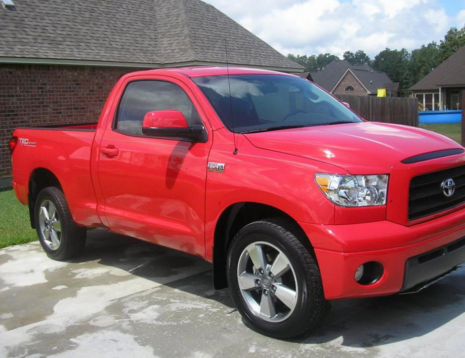 Toyota Tundra Regular Cab approved hatchback