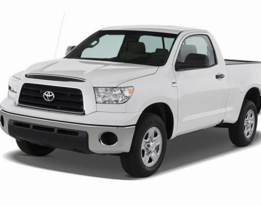 Toyota Tundra Regular Cab model 2012