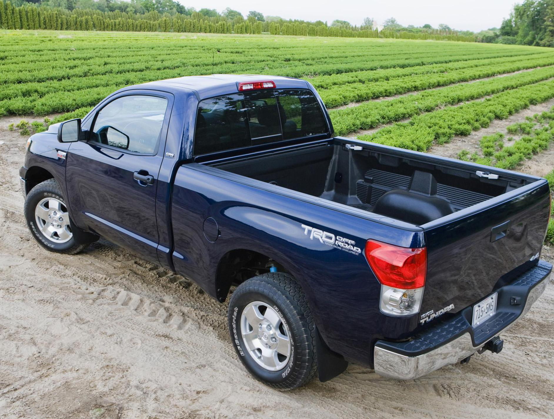 Toyota Tundra Regular Cab Specifications 2007
