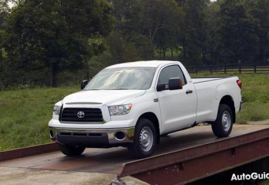 Tundra Regular Cab Toyota Specifications 2010