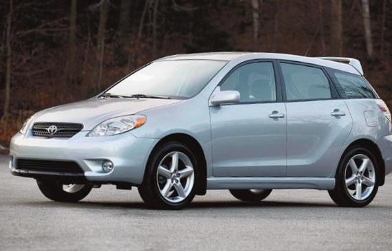 Toyota Matrix usa minivan