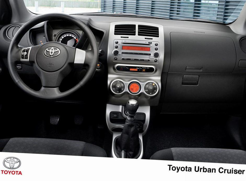 Urban Cruiser Toyota approved 2012