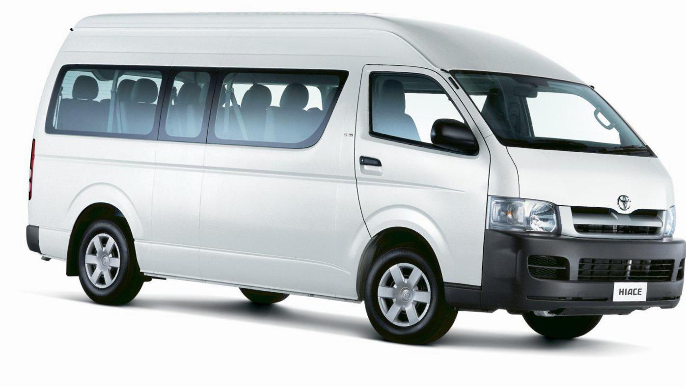 Toyota Hiace how mach 2007