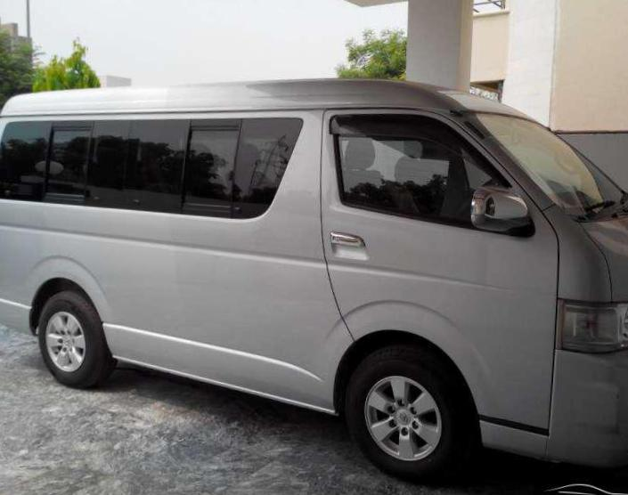 Hiace Toyota how mach pickup