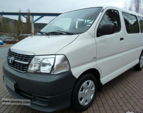 Hiace Toyota parts 2011