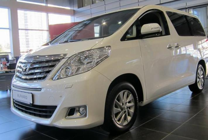 Alphard Toyota Specification 2008