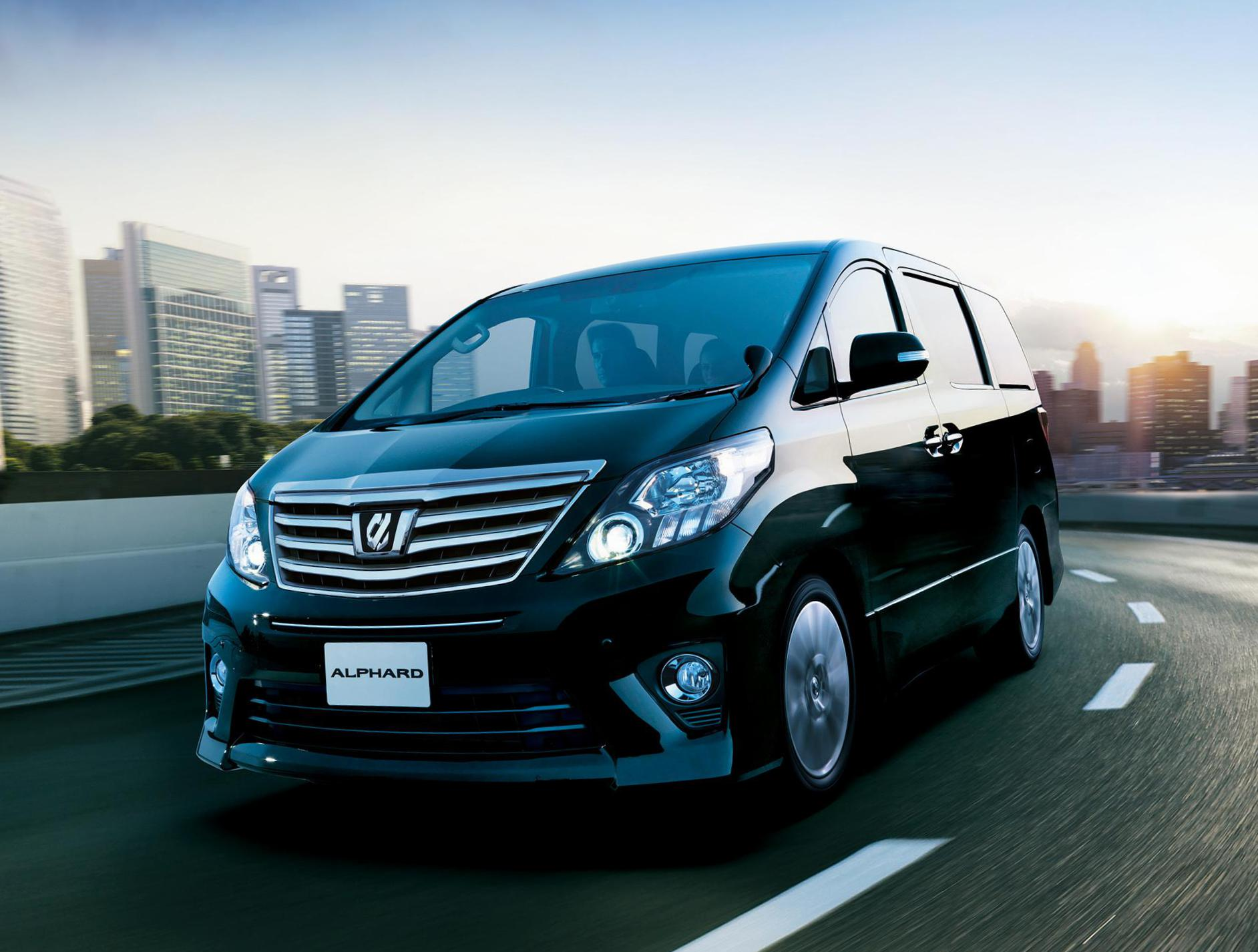 Toyota Alphard how mach coupe