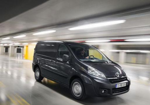 Toyota Proace Panel Van models 2012