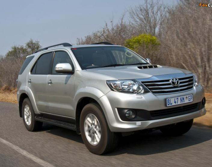 Toyota Fortuner how mach 2011