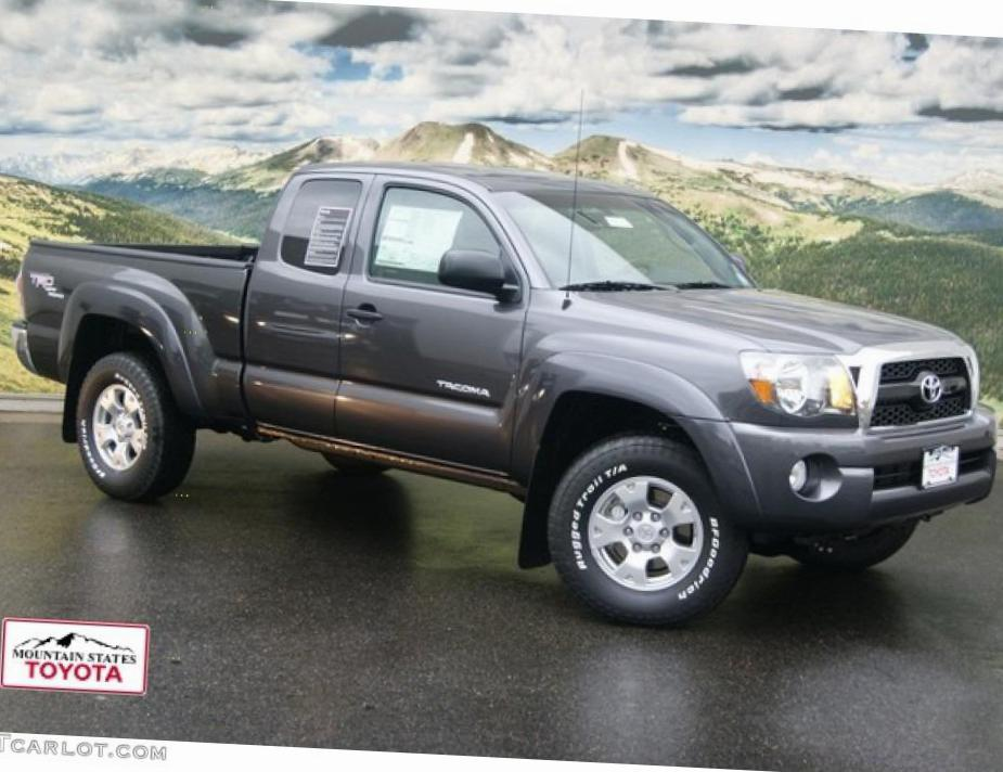 Toyota Tacoma Access Cab Specification coupe