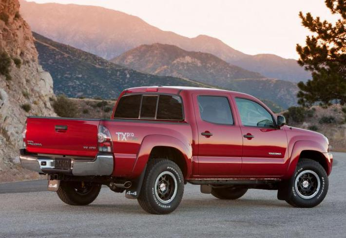 Toyota Tacoma Double Cab review 2012
