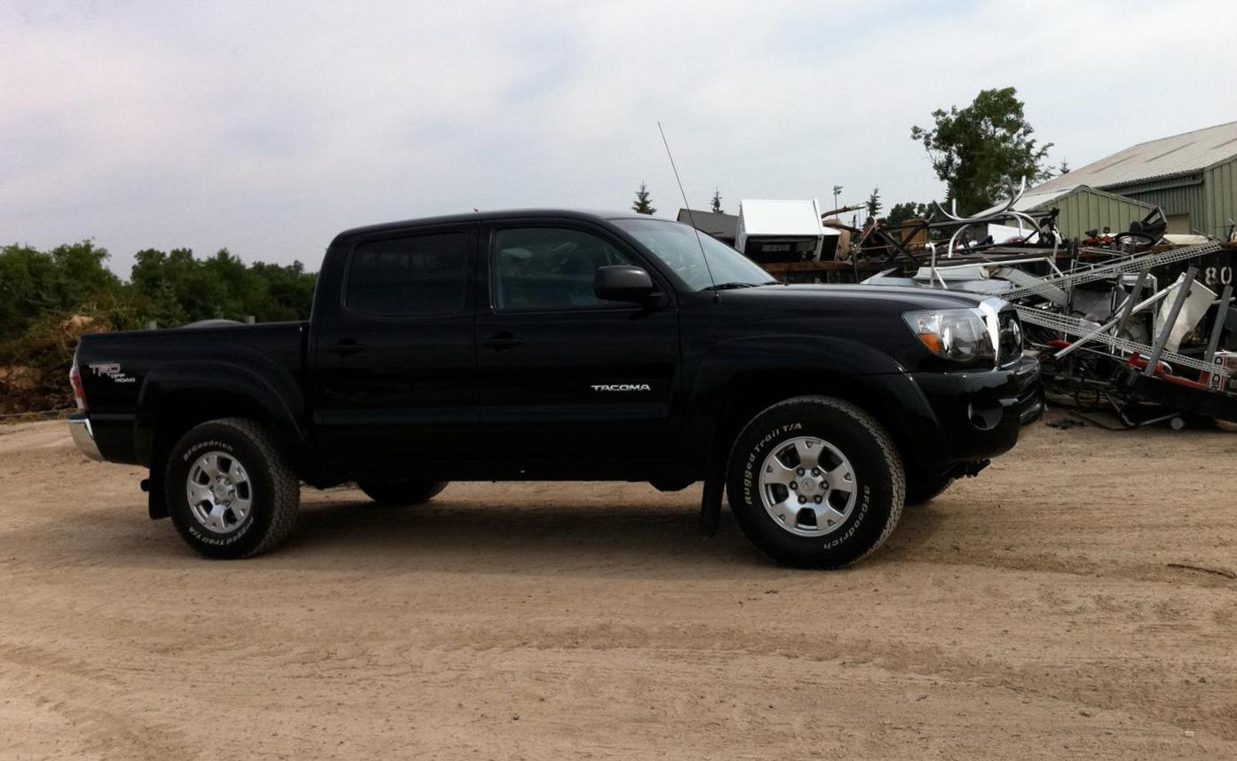 Toyota Tacoma Double Cab Specification 2009